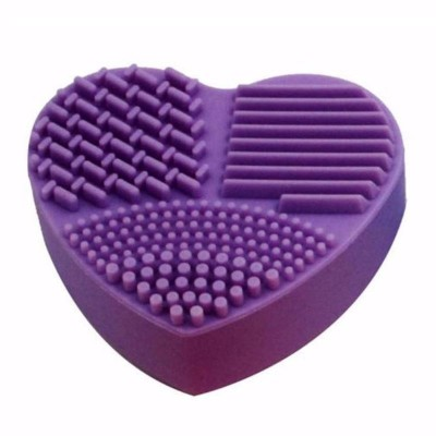Bare Faced Chic Make-Up Brush Cleaning Pad Purple 1 kpl