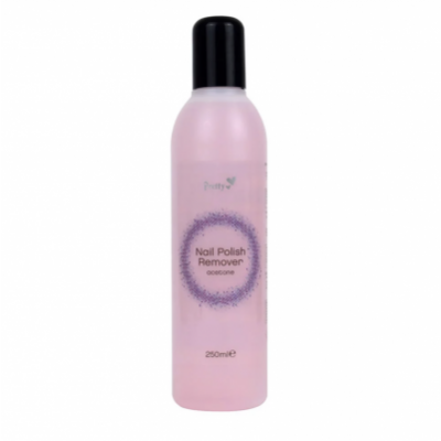 Pretty Nail Polish Remover Acetone 250 ml