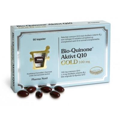Pharma Nord Bio-Quinone Aktivt Q10 Gold 100 mg 90 st