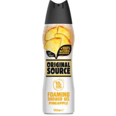 Original Source Foaming Shower Gel Pineapple 180 ml