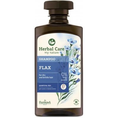 Herbal Care Flax Shampoo 330 ml