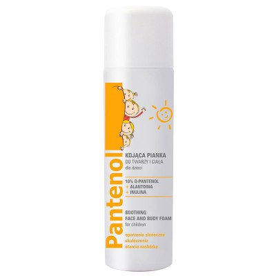 Pantenol Kids Soothing Face & Body Foam 150 ml
