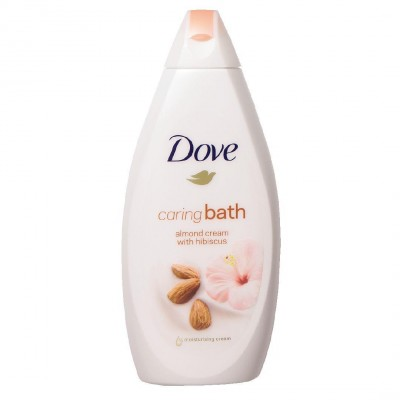 Dove Caring Bath Almond Cream With Hibiscus 500 ml