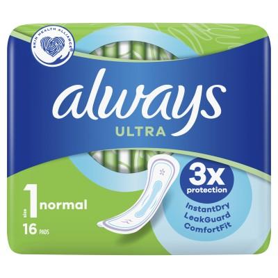 Always Ultra Normal 16 stk