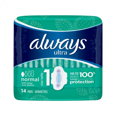 Always Ultra Normal Plus with Wings 14 pcs