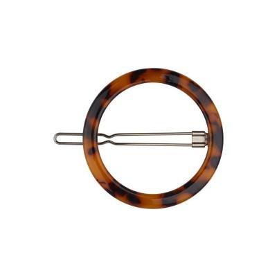 Everneed Lina Circle Hair Clip Dark Nature 5 cm