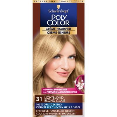 Schwarzkopf Poly Color 31 Natural Blonde 1 kpl