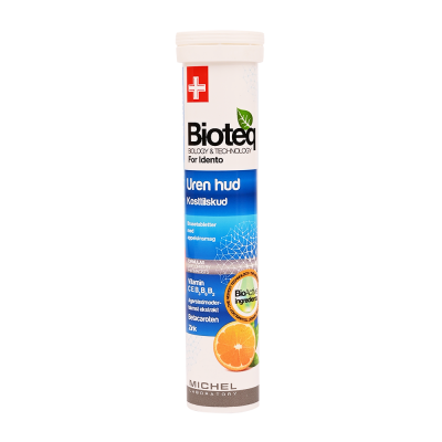 Bioteq Zink poretabletti Epäpuhdas iho 20 kpl
