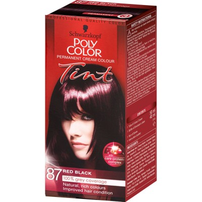 Schwarzkopf Poly Color 87 Red Black 1 st