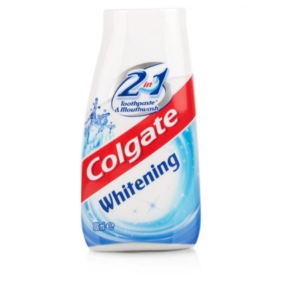 Colgate 2in1 Whitening Toothpaste & Mouthwash 100 ml