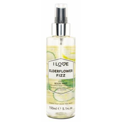 I Love Cosmetics Elderflower Fizz Body Mist 150 ml
