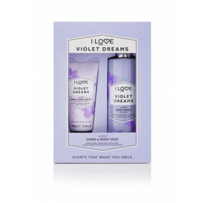 I Love Cosmetics Violet Dreams Hand & Body Duo Set 100 ml + 360 ml