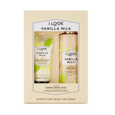 I Love Cosmetics Vanilla Milk Hand & Body Duo Set 100 ml + 360 ml