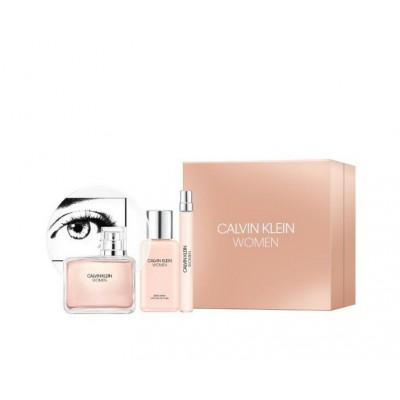 Calvin Klein Women EDP & EDP Mini & Body Lotion 100 ml + 10 ml + 100 ml