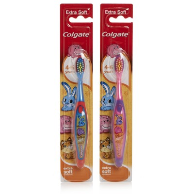 Colgate Kids Smiles Toothbrush Extra Soft 4-6 Years Assorted 1 stk