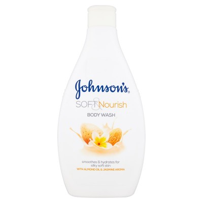 Johnson's Soft & Nourish Body Wash 400 ml