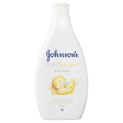 Johnson's Soft & Pamper Body Wash 400 ml