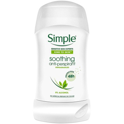 Simple Soothing Anti-Perspirant Deostick 40 ml