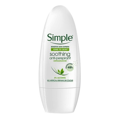 Clear & Simple  Soothing Anti-Perspirant Roll On Deo 50 ml