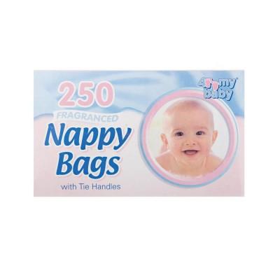 4 My Baby Fragranced Nappy Sacks 250 stk