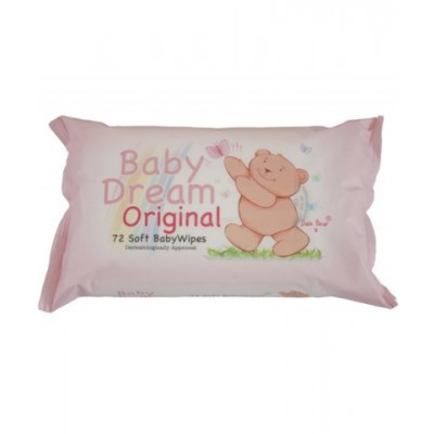 Baby Dream Original Wipes 72 st