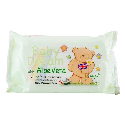 Baby Dream Aloe Vera Wipes 72 st