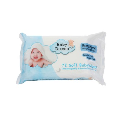 Baby Dream Sensitive Wipes 72 st