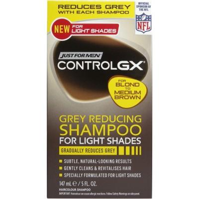 Just For Men Control GX Light Shades Grey Reducing Shampoo 147 ml