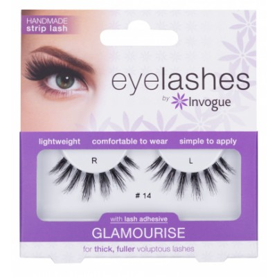 Invogue Eyelashes Glamourise 14 1 pari