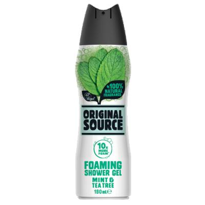Original Source Foaming Shower Gel Mint & Tea Tree 180 ml