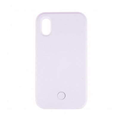 BasicsMobile Selfie Cover White iPhone X/XS iPhone X/XS