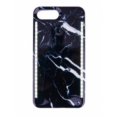 BasicsMobile Selfie Cover Black Marble iPhone 7/8 iPhone 7/8