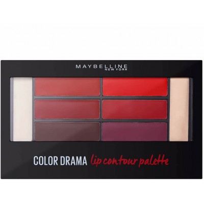 Maybelline Color Drama Lip Contour Palette 01 Crimson Vixen 4 g