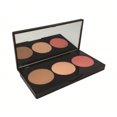 Technic Face Fix Blush, Bronzer & Highlighter Trio 1 stk.