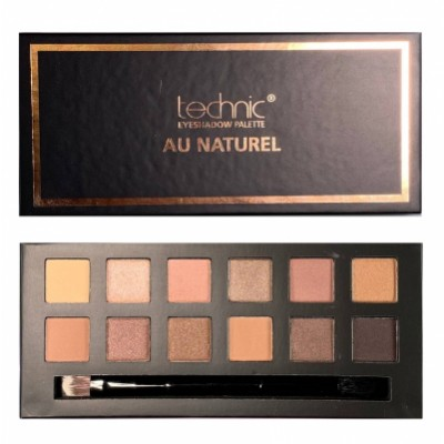 Technic Eyeshadow Palette Au Naturel 1 stk