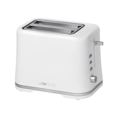 Clatronic TA 3554 Toaster White Silver 1 st