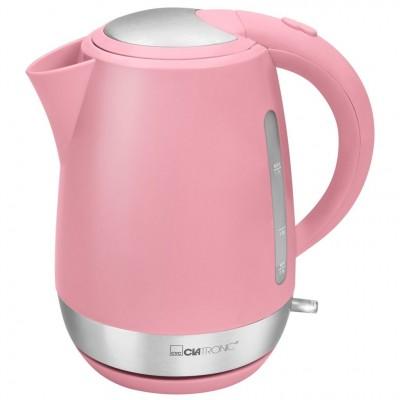Clatronic WK 3691 Wireless Electric Kettle Pink 1700 ml