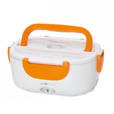 Clatronic LB 3719 Electronic Lunchbox White & Orange 1 st