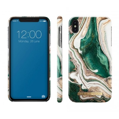 iDeal Of Sweden Fashion Case iPhone XS Max Golden Jade Marble iPhone XS Max