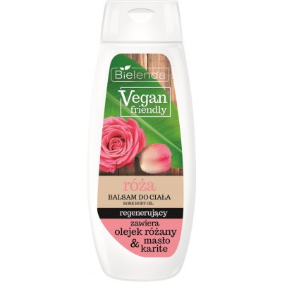 Bielenda Vegan Friendly Rose Body Balm 400 ml