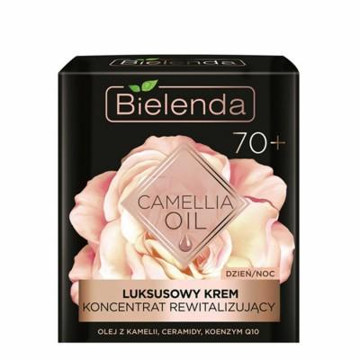 Bielenda Camellia Oil Luxurious Revitalizing Face Cream 70+ 50 ml