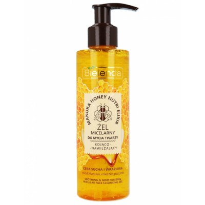 Bielenda Manuka Honey Soothing Micellar Cleansing Gel 200 g