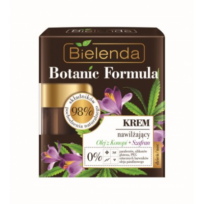 Bielenda Botanic Formula Hemp & Saffron Face Cream 50 ml