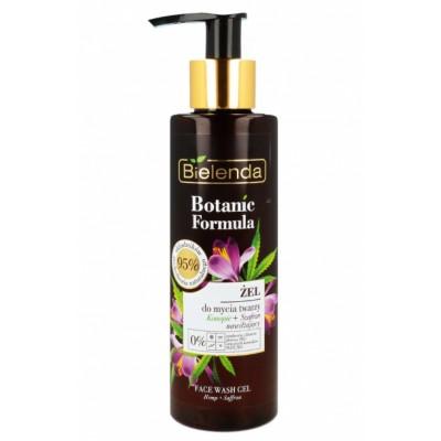 Bielenda Botanic Formula Hemp & Saffron Cleansing Gel 200 ml
