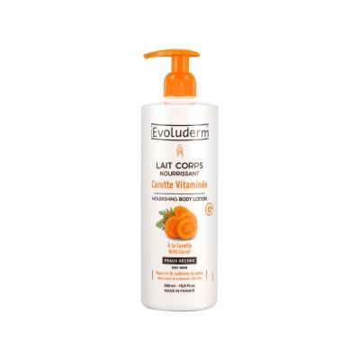 Evoluderm Nourishing Carrot Body Lotion 500 ml