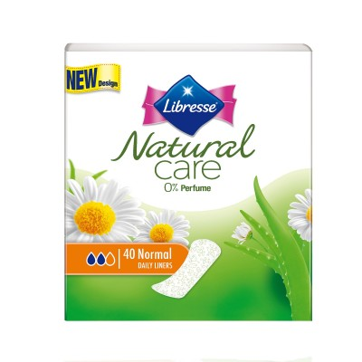 Libresse Natural Care Pantyliners Normal 40 st