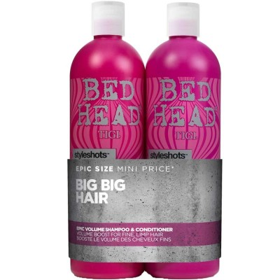 Image of   Tigi Bed Head Epic Volume Tween Duo 2 x 750 ml