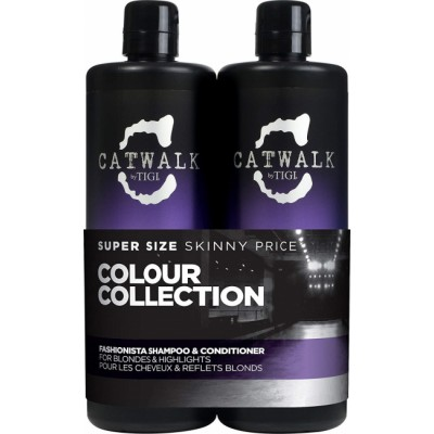 Tigi Catwalk Fashionista Tween Duo Blonde 2 x 750 ml