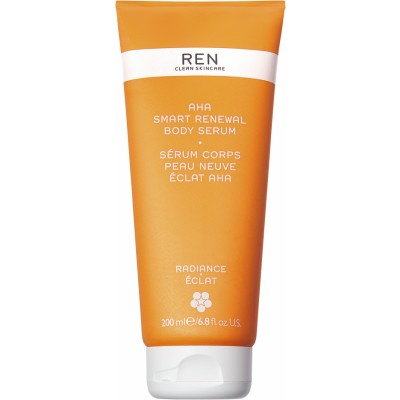 REN Radiance AHA Smart Renewal Body Serum 200 ml