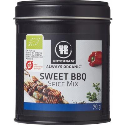 Urtekram Sweet BBQ Spice Mix Eco 70 g